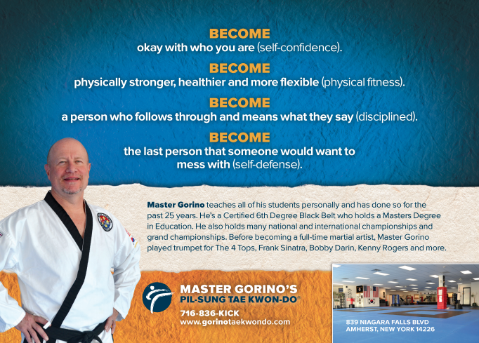 Master Gorino - Become brochure