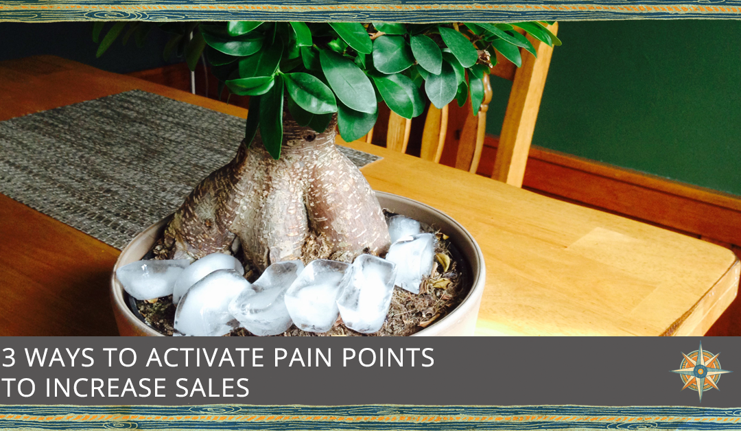 3 Ways to Increase Sales via Pain Points