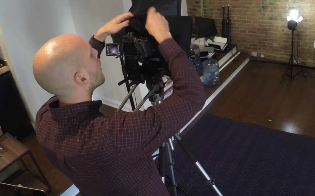 How to Set Up an iPad Teleprompter Rig