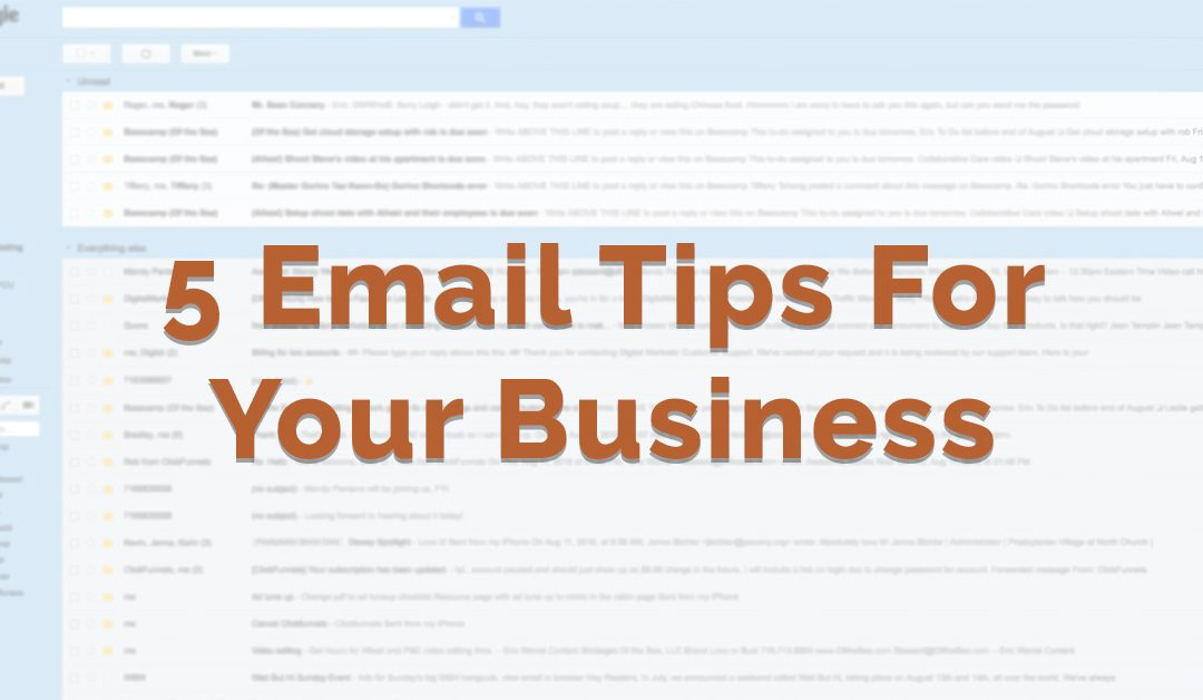 How To Improve Your Email Marketing Efforts